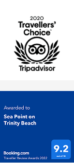 Tripadvisor Certificate of Excellence booking.com Guest Reviews Award